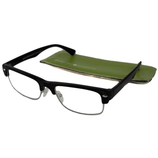 Gabriel + Simone Philippe Black Unisex Reading Glasses