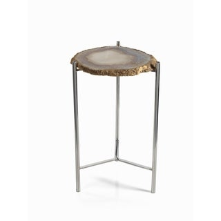 """Savona"" 21"" Tall Accent Table, Agate"