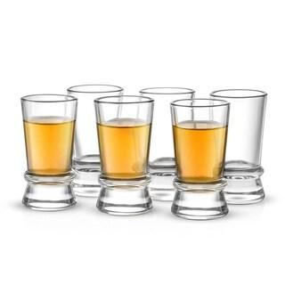 Link to JoyJolt Afina Heavy Base Shot Glass Set, 6 Piece 1.5 Oz Similar Items in Glasses & Barware