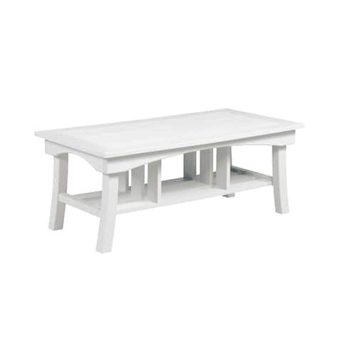 "C.R. Plastic Products Bay Breeze 49"" Coffee Table"