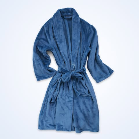 Berkshire Blanket VelvetLoft Plush Luxury Spa Robe