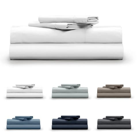 Pillow Guy Cotton 400 Thread Count 4-Piece Bed Sheet Set
