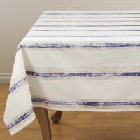 Hand Blocked Striped Topper