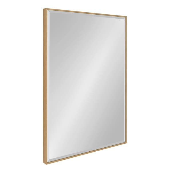 Shop Rhodes Framed Decorative Rectangle Wall Mirror On