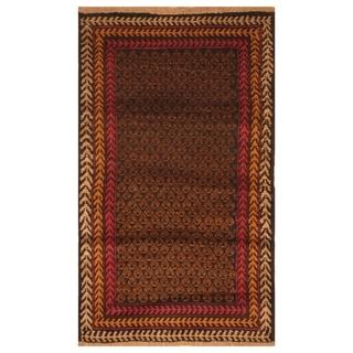 Handmade Balouchi Wool Rug (Afghanistan) - 2'7 x 4'7