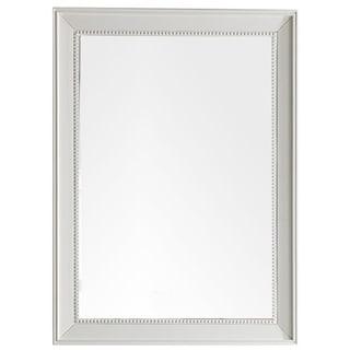 """Bristol 29"""" Rectangular Mirror, Cottage White - A/N"""