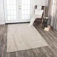 Rizzy Home Fifth Avenue Beige Wool Handmade Area Rug - 10' x 13'
