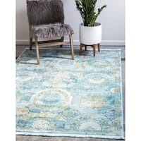 Unique Loom Coppelia Baracoa Area Rug - 10' x 13'