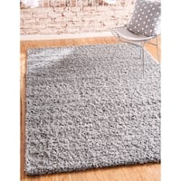 Unique Loom Solid Shag Rug - 8' x 10'