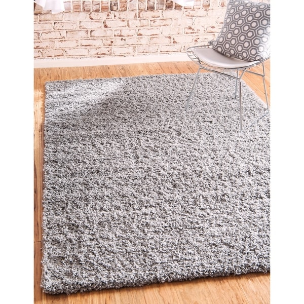 Unique Loom Solid Shag Area Rug