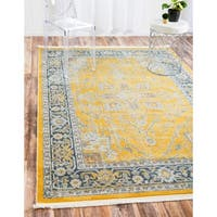 Unique Loom Prado Baracoa Area Rug - 4' 3 x 6'
