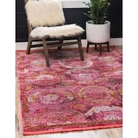 Unique Loom Coppelia Baracoa Area Rug - 4' 3 x 6'