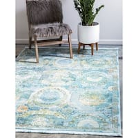 Unique Loom Coppelia Havana Area Rug - 8' 4 x 10'