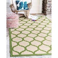 Unique Loom Moroccan Outdoor Area Rug - 7' x 10'