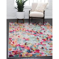 Unique Loom Joyous Chromatic Area Rug - 9' x 12'