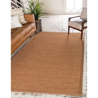 Unique Loom Sandy Sisal Area Rug - 7' x 10'
