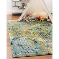Unique Loom Nirvana Spectrum Area Rug - 9' x 12'
