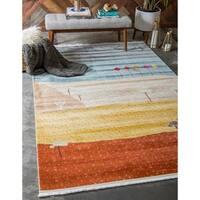 Unique Loom Iroquois Tribe Area Rug - 10' x 13'