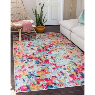 Unique Loom Joyous Chromatic Area Rug - 8' x 10'