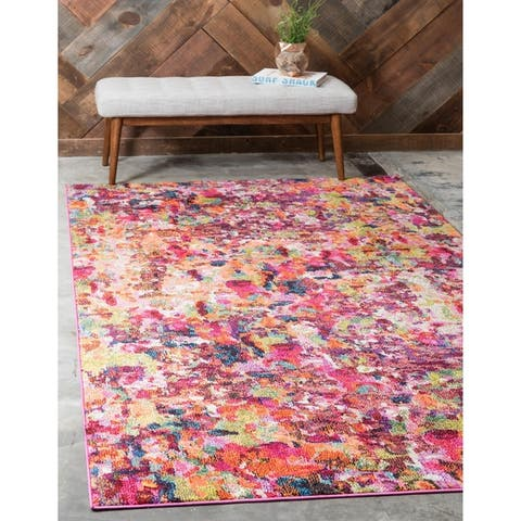 Unique Loom Joyous Chromatic Area Rug