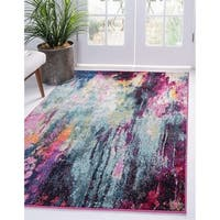 Unique Loom Sunset Spectrum Area Rug - 9' x 12'