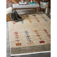 Unique Loom Mohican Native Area Rug - 5' 5 x 8'