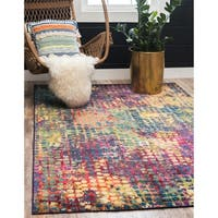 Unique Loom Nirvana Chromatic Area Rug - 5' x 8'