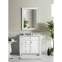 "Bristol 36"" Single Vanity, Cottage White"