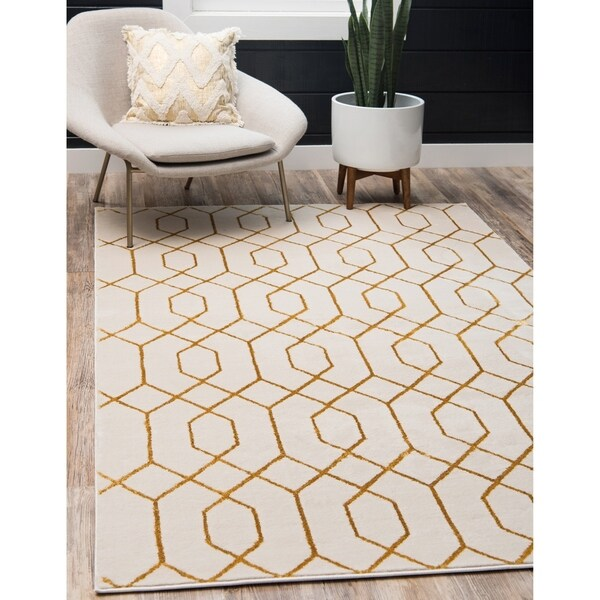 Shop Marilyn Monroe Trellis Glam Area Rug 9 X 12 On