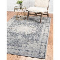 Unique Loom Rockwell Asheville Area Rug - 8' x 10'