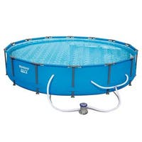 Bestway Steel Pro Max Swimming Pool Set with 530 GPH Filter Pump, 14' x 33""