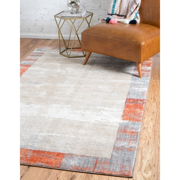 Shop Unique Loom Canaries Helios Area Rug 4 X 6 On Sale Free