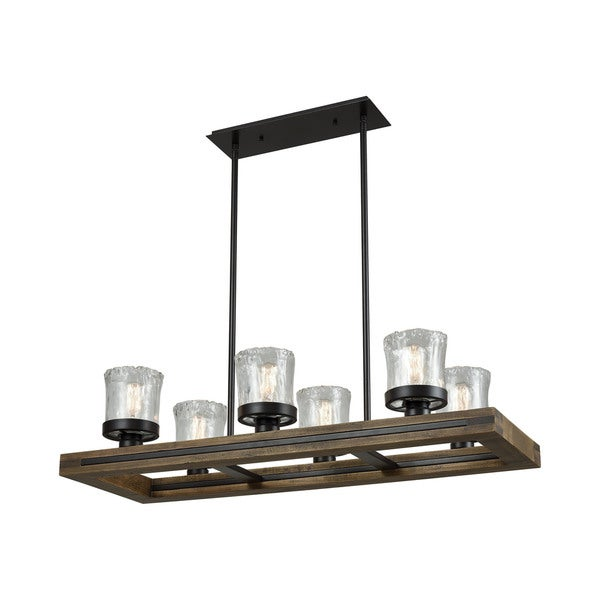 Timberwood Island Light, Oil Rubbed Bronze