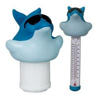 GAME Swimming Pool Chlorinator and Thermometer Combo Pack