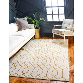 Link to Marilyn Monroe Modern Geometric Trellis Glam Area Rug Similar Items in Transitional Rugs