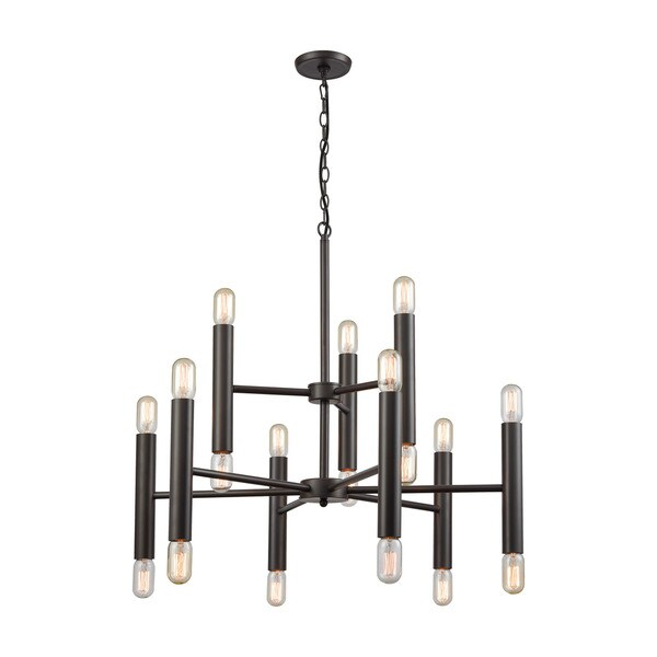 Cameron 18-Light Chandelier, Oil Rubbed Bronze