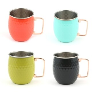Fiesta Moscow Mule Mugs, Set of 4