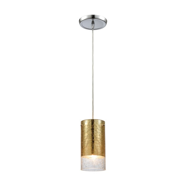 Tallula 1-Light Pendant, Polished Chrome