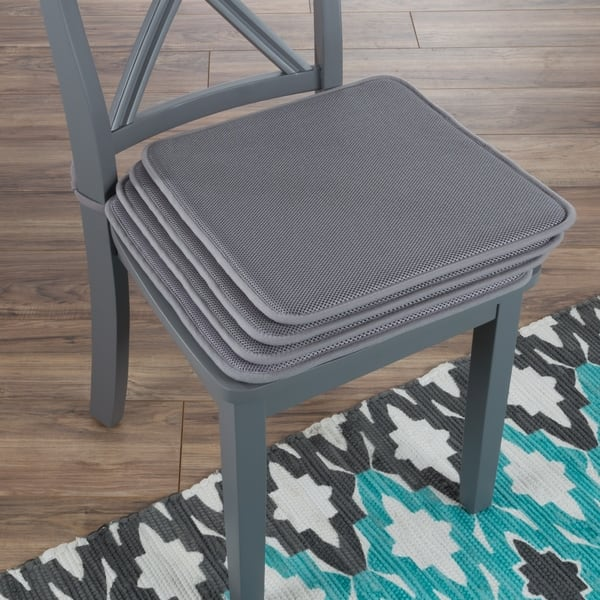 Shop Chair Cushions-Set of 4 Square Foam 16\
