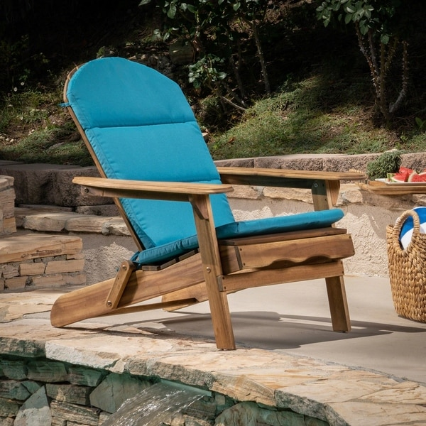 Malibu Outdoor Adirondack Chair Cushion By Christopher Knight Home