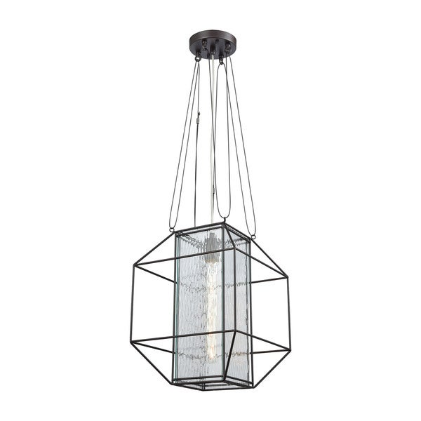 Waterbury 1-Light Pendant, Oil Rubbed Bronze