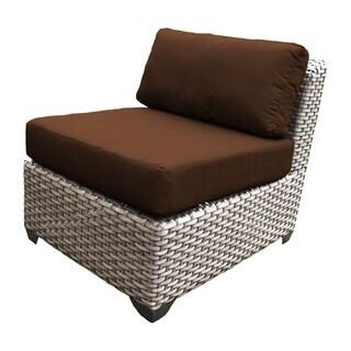 Marina OH0415 Outdoor Patio Armless Wicker Sofa Segment