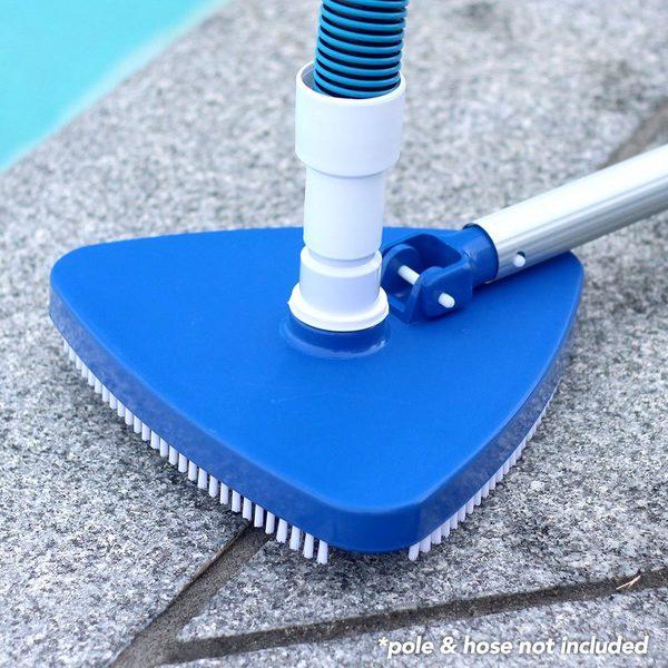 Shop Pool Mate Triangular Vacuum Head for Swimming Pools - Free ...
