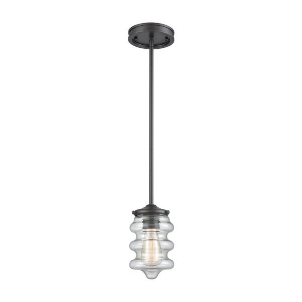 Synchronis 1-Light Pendant, Oil Rubbed Bronze