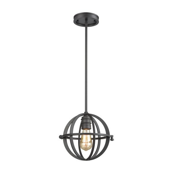 Aubridge 1-Light Pendant, Oil Rubbed Bronze