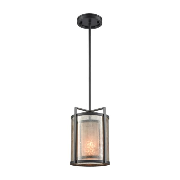 Stasis 1-Light Pendant, Oil Rubbed Bronze
