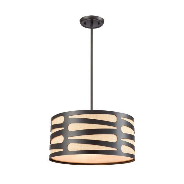 Alton 3-Light Pendant, Oil Rubbed Bronze