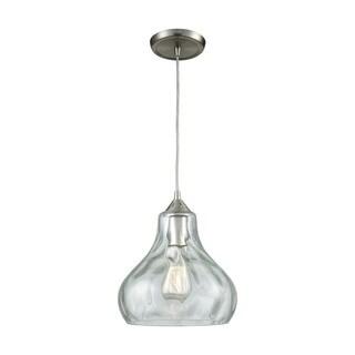 Belmont 1-Light Pendant, Satin Nickel