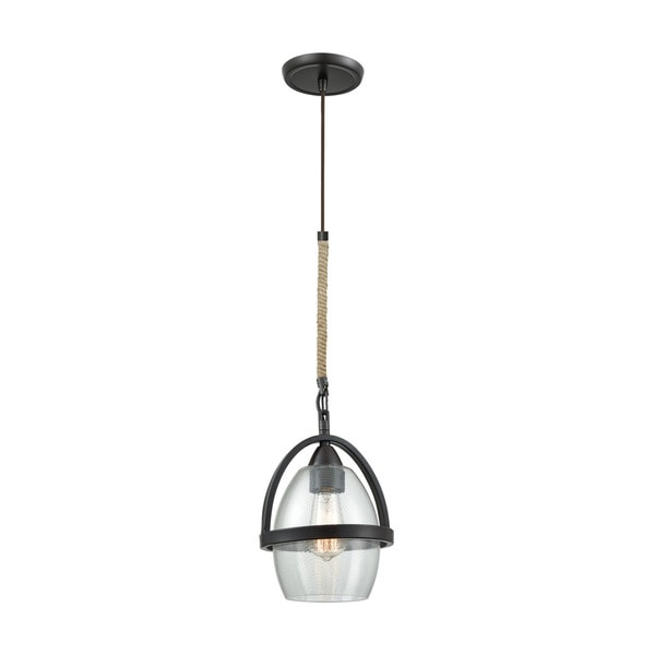 Irwindale 1-Light Pendant, Oil Rubbed Bronze