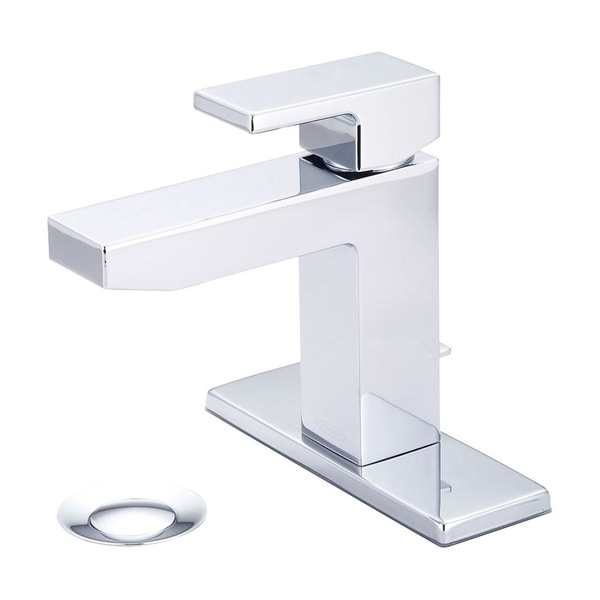 Shop Mod Single Handle Bath Faucet with Deck Plate - Free Shipping Today - Overstock.com - 21121564
